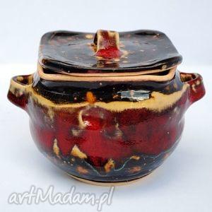 pojo iii - ceramiczny pojemnik, naczynie, ceramika, uzytkowe, unikatowe