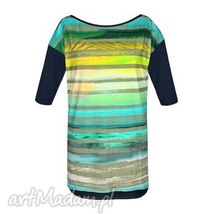 Bluzka Tunika Colorate, bluzka, tunika, sukienka, print, lato