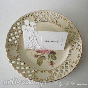 ślub winietki weselne dla gości wizytówki na stół, ślub, winietki, wizytówka