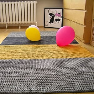 dywan słoneczny na zamówienie, dywan, chodnik, pasy, dwustronny, bawełniany
