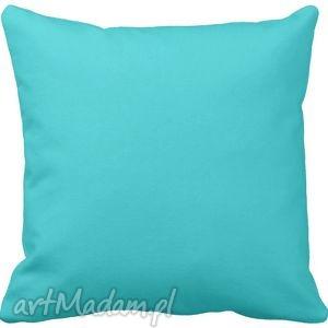 artmini poduszka ozdobna dekoracyjna niebieska gładka 6573, jednokolorowa dom