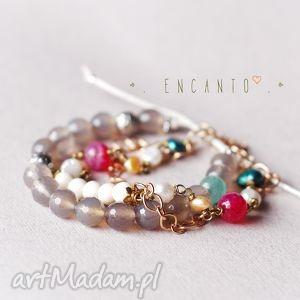 india , kamienie, naturalne, agat, howlit, perły bransoletki, unikalne prezenty