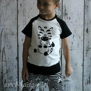 ubranka bluzka, t-shirt zebra 98-140 , bluzeczka, shirt, pandy dla dziecka