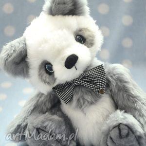 Hand made, Miś panda- Odo, szyty ręcznie, 30cm, Przytul misie , miś, zabawka, pluszak
