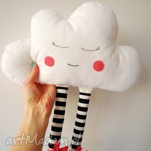 Chmurka, chmurka, chmura, zabawka, przytulanka, maskotka, poduszka