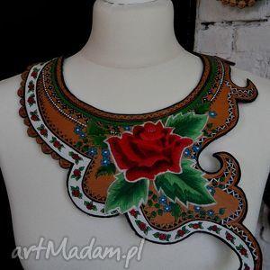 folk design- biżuteria ediedy - haft, folk, design, biżuteria, sutasz