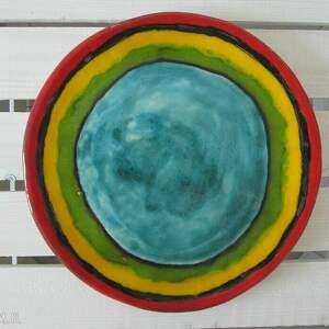 ceramika energetyczna patera, kolorowa, talerz, ceramiczna, ceramiczny dom