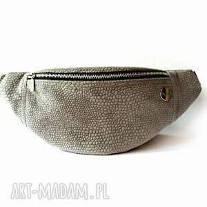 Croco Velvet mini nerka /saszetka, velvet, welur, croco, aksamitna, handmade,