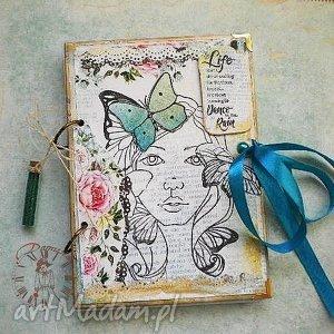 damusia pamiętnik notatnik wiosenna dziewczyna, wiosna, notes, pamietnik, kwiaty