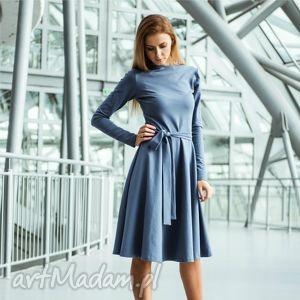 WHEEL PENSOFT | sukienka z dzianiny bawełnianej, sukienka, dzianina