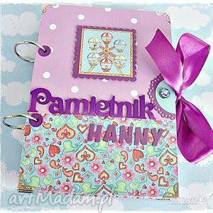 scrapbooking notesy słodki pamiętnik personalizowany, pamiętnik, dziewszynki, prezent