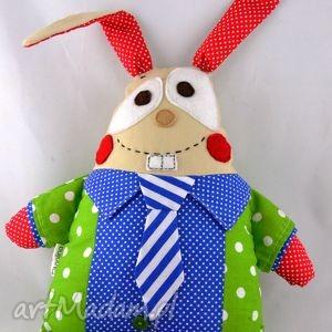 zając feluś, szyta przytulanka , przytulanka, zając, królik, maskotka, prezent