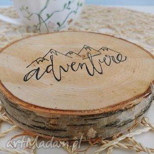 podkładka pod kubek drewno, podkładka, podkładki, eko, adventure
