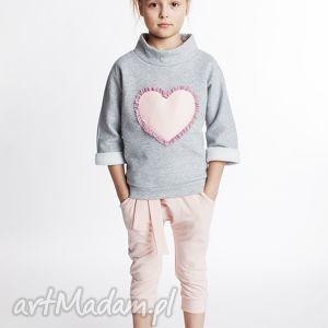bluza db06m, serce, bawełniana, wygodna, unikalny prezent