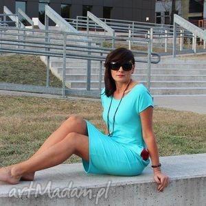 sukienki sukienka dresowa ołówkowa z kieszeniami midi kolory, sukienka, dresowa, dres
