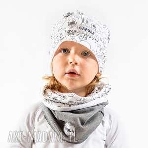 pod choinkę prezent, czapka duszkowa, bawełna, handmade, czapka, duchy, ciepło