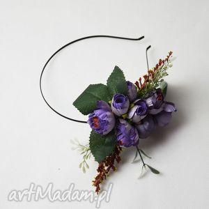 wiosenne kwiaty, opaska, wiosna, wesele