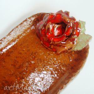 różany świecznik, miseczka, podstawka, subtelny, róża dom