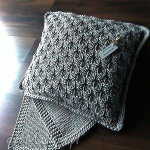 poduszki komplet-zestaw poduszka i podkładki, poduszka, sznurek, druty