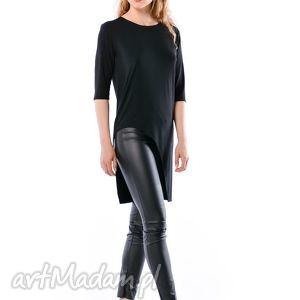 tuniki justyna hypnotic black, koszulka, bluzka, tunika ubrania, unikalny prezent