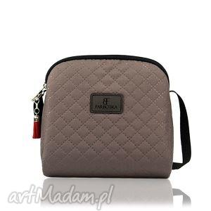 mini simple color 168, torebka, mini, beżowa torebki