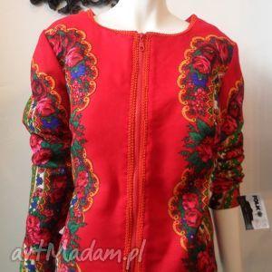 pod choinkę prezent, legginsy folk design- letnia kurtka, folk, deisgn