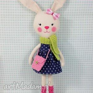 róliczka marcelina, króliczka, zabawka, przytulanka, prezent, niespodzianka, dziecko