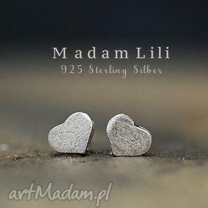 925 mini kolczyki sztyfty serca, kolczyki, sztyfty, miłość, walentynki, kocham