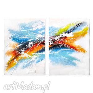 obrazy abstrakcja spx, nowoczesny obraz ręcznie malowany, obraz, ręcznie, malowany
