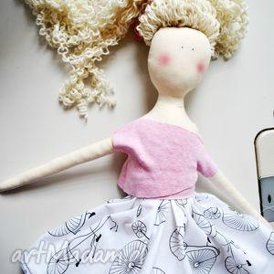 lalki pani lala, lalka, zabawka, przytulanka, blond, długimi, włosami dla dziecka
