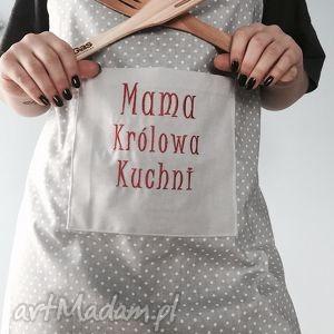 fartuchy fartuch mama królowa kuchni, dzieńmamy, mama, fartuch, haft, fartuszek