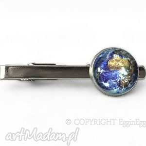 męska ziemia - spinka do krawata, ziemia, spinka, męska, planeta, prezent