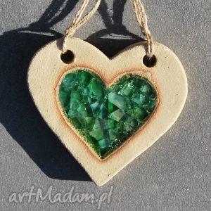 walentynkowe serce ceramiczne , magnesy, zawieszki, serce, ceramika, walentynki dom
