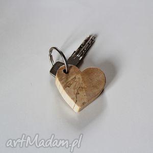 świąteczny prezent, brelok do kluczy, brelok, breloczek, klucz, klucze, drewniany
