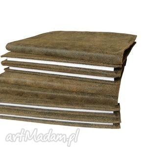 Skórzana okładka na zeszyt / notatnik A5, okładka, notatnik, zeszyt, a5, skóra
