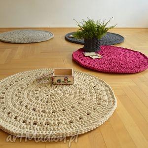 dywanik ażurowy, dywan, okrągły, ażur, chodnik, bawełniany, unikalne prezenty