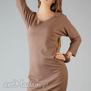 sukienki sukienka kami 8, wygodna, swobodna, midi, modna, surowa