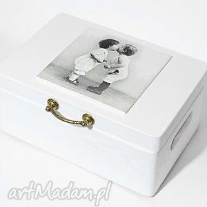 ślubne pudełko na koperty kopertówka love vintage, pudełkonakoperty, vintage