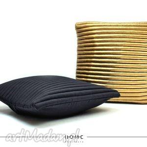 poduszki komplet poduszek colors 50 black, gold, poduszki, poduchy, poduszka
