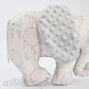 Słoń ŁAPACZE szary, słoń, maskotka, przytulanka