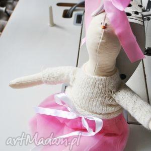 pani królik, handmade, tilda, prezent, dziecka, dziewczynki, urodziny dla