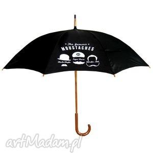 parasole famous moustaches parasol długi, parasol, parasolka, prezent, deszcz, modne