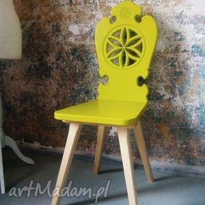 góralskie zydle folk design aneta larysa knap , góralskie, krzesło, zydle