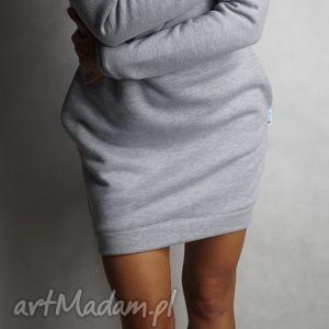 lil yo odziez dresówka długi rękaw - xs s, dresowa, tunika, sukienka, kieszenie