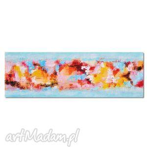 pastelica, abstrakcja, nowoczesny obraz ręcznie malowany, obraz, abstrakcja