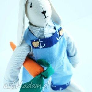 zajĄc z marchewkĄ - zając, wielkanoc, królik, święta, szmacianka