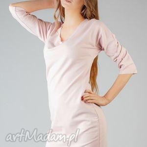 sukienka kami 3, wygodna, swobodna, modna, midi, surowa ubrania