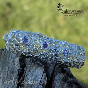 wisiorki zaplątany, wisior, jedyny, pleciony, ciekawy, srebrny biżuteria, święta