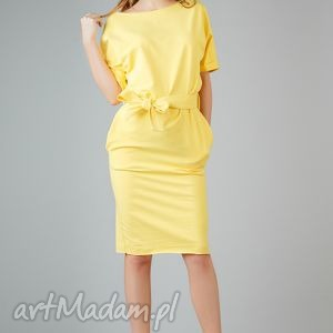 sukienki sukienka aleksandra 2, elegancka, midi, luźna, swobodna, wygodna, kimono