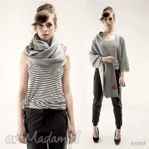 płaszcze tuba komin szal origami dress z kieszeniami, dresowy, ciepły, wygodny